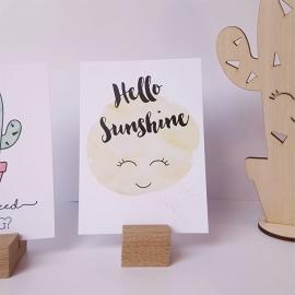 Postkaart / Interieurkaart 'Hello Sunshine'