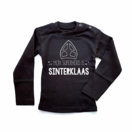 T-shirt Mijn superhero is Sinterklaas