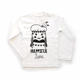 T-shirt Hulppietje - meisje