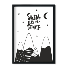 Poster 'Shine like the Stars'