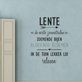 Muursticker 'Lente'