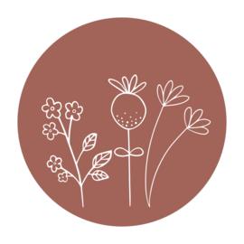 Cirkel 'Veldbloemen 3'