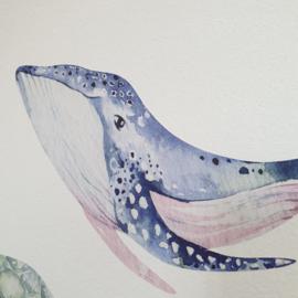 Muurstickers 'Onderwaterdieren'- groot