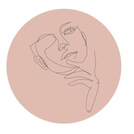 Cirkel 'Portret vrouw'