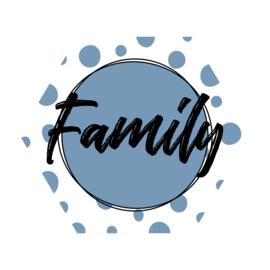 Zeshoek 'Family'