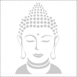 Glasfoliesticker Boeddha