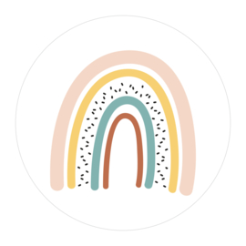 Muurcirkel 'Regenboog' - 2