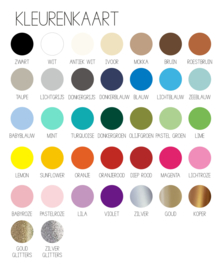 Aanvraag kleurenstaaltjes