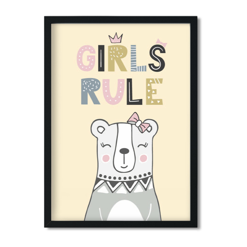 Poster 'Girls Rule'