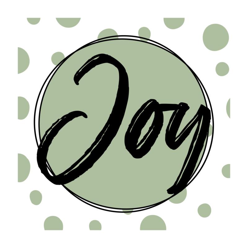 Vierkant 'Joy'
