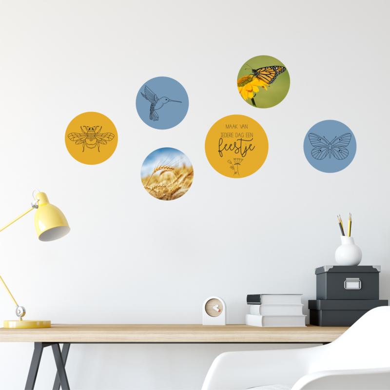 Cirkel collage 6