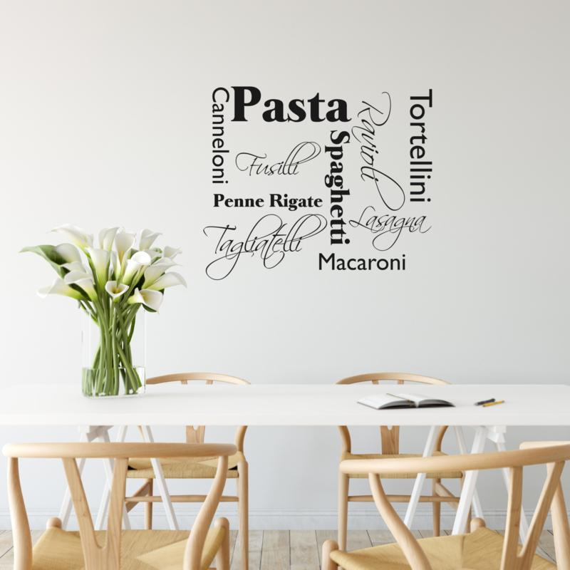 Muursticker Pasta