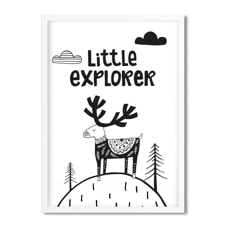 Postkaart / Interieurkaart 'Little Explorer'