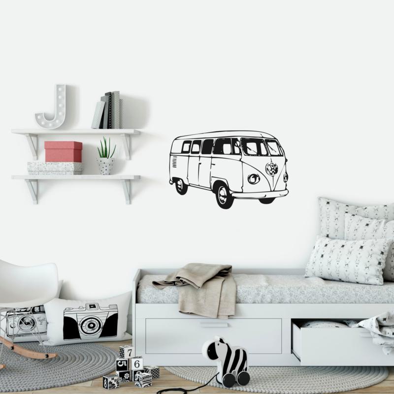 Afbeeldingsticker Volkswagen busje