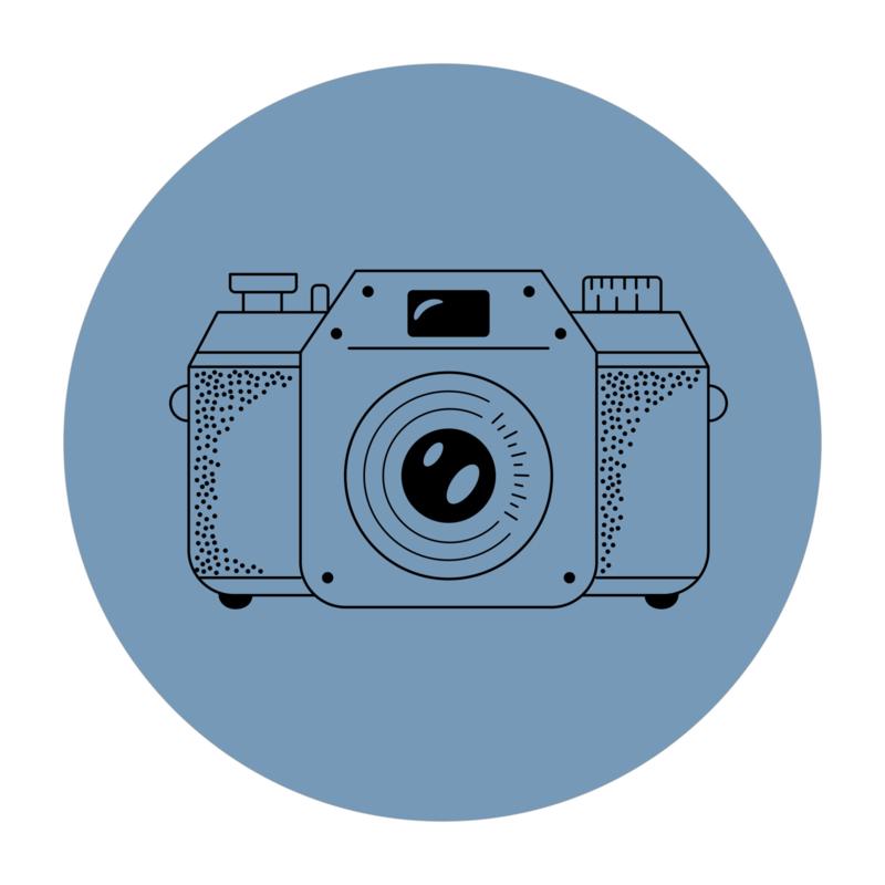 Cirkel 'Fototoestel'