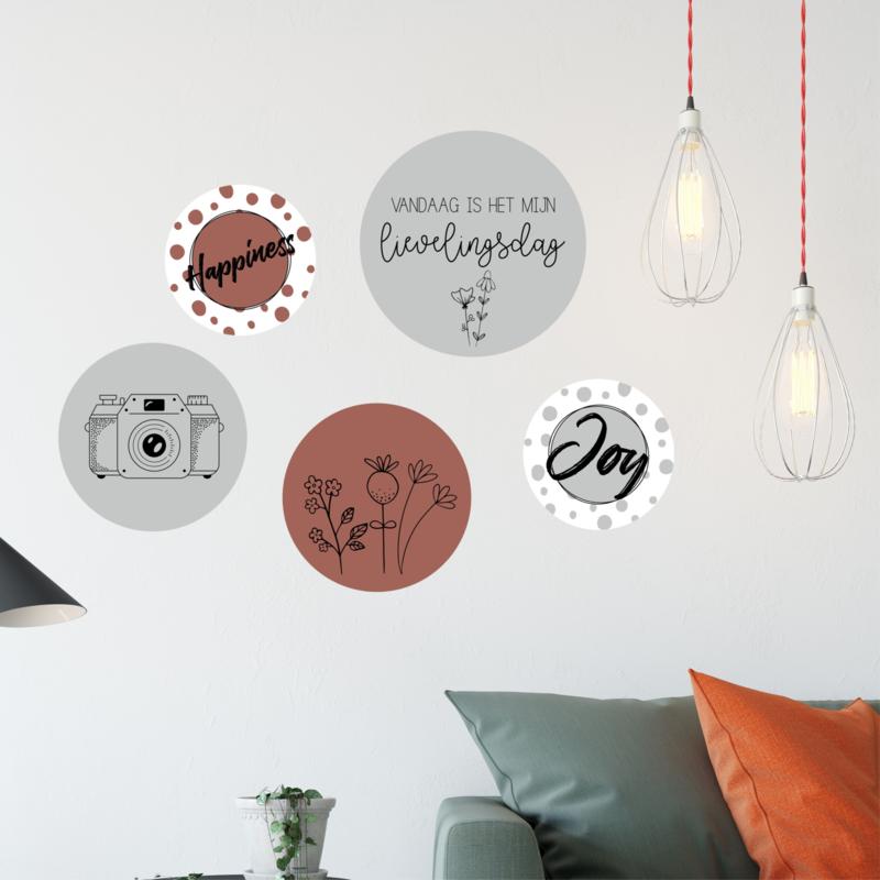 Cirkel collage 8