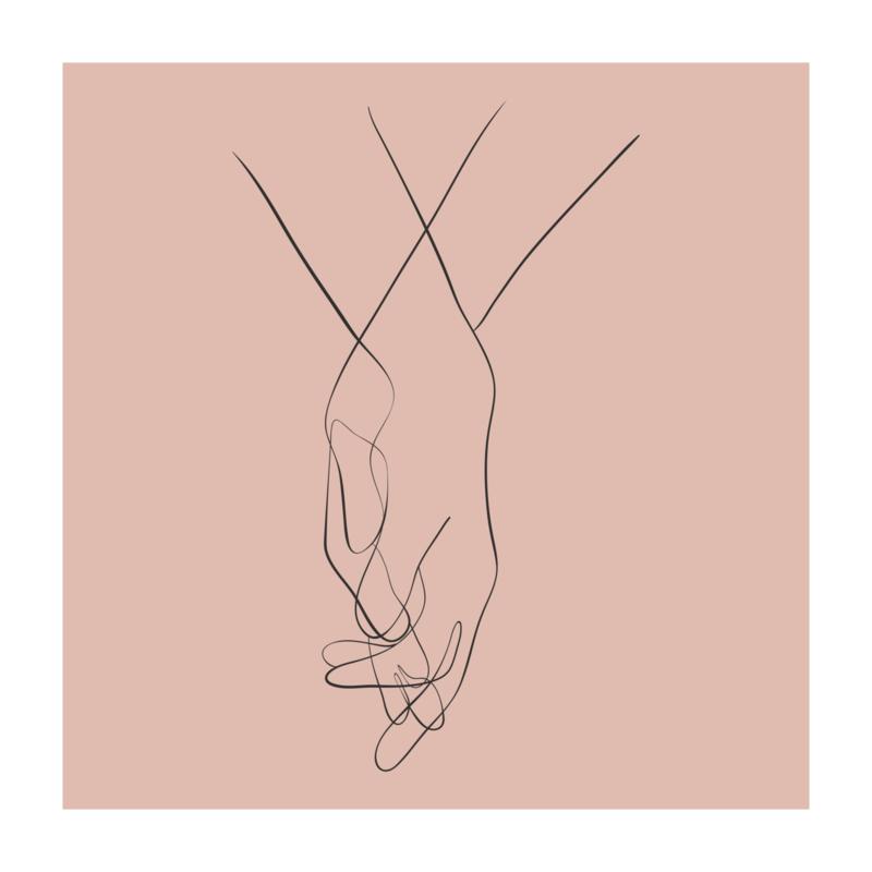Vierkant 'Handen'