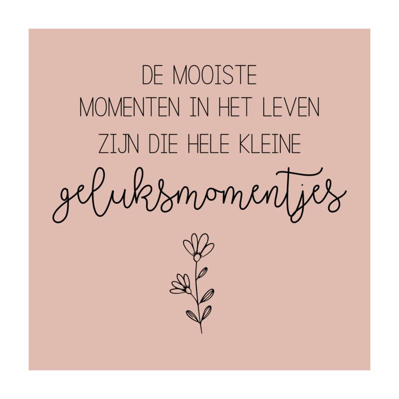 Vierkant 'De mooiste Momenten...'