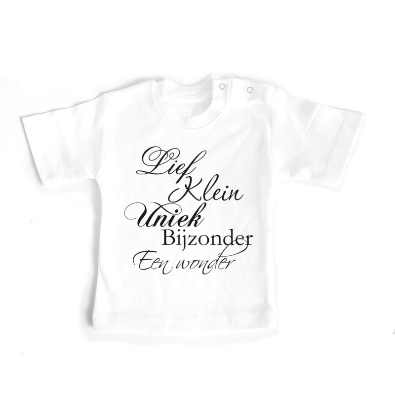 T-shirt Lief, klein, uniek, bijzonden, een wonder