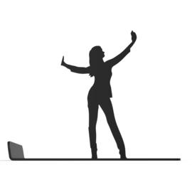 Artori Design mobielhouder - Selfie Stephi