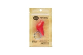 Keyring sparrow red