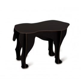 Sultan dog stool black