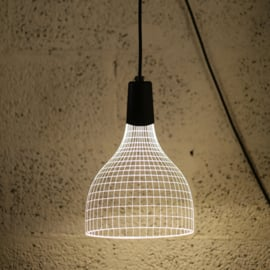 Shade wall lamp
