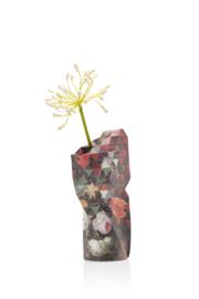 Paper Vase Cover small flowers