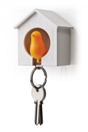 sparrow keyholder oranje