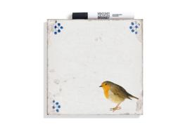 Dutch Design Wisdome Tile Robin