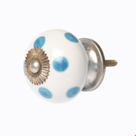 Rex London Meubelknop blue spot