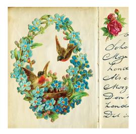 Poezie vogeltjes en bloemetjes