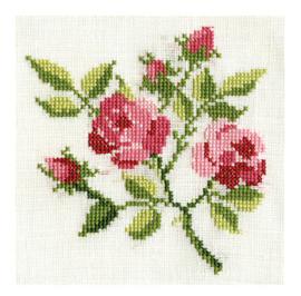 Borduur bosje roosjes