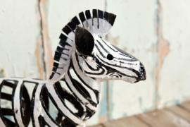 Zimba Arts Zebra zwart/wit