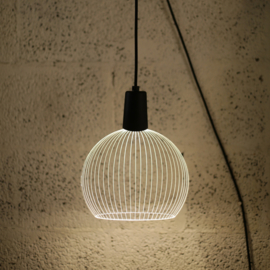 Sphere wall lamp