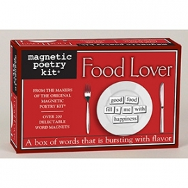 Magnetic Poetry Food Lover