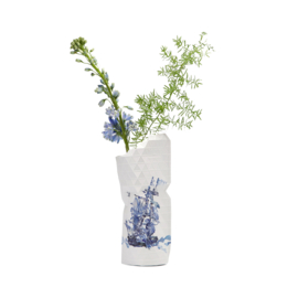 Tiny Miracles Paper Vase Cover Delfts blue