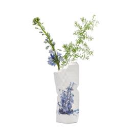 Paper Vase Cover Delfts Blue
