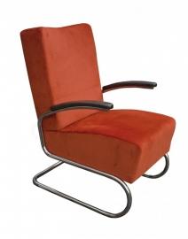 Chroombuis fauteuil hoog