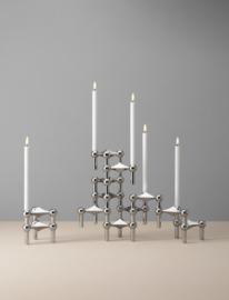 Stoff Nagel LED kaarsen by Uyuni