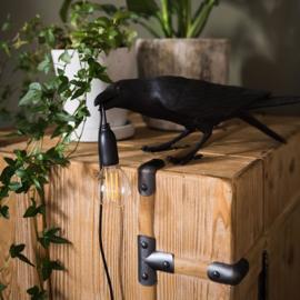 Bird lamp standing