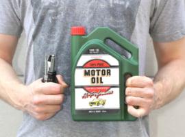 Oil jug kit