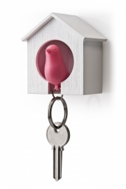 Qualy sparrow keyholder roze