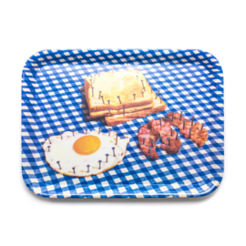 Seletti melamine tray breakfast