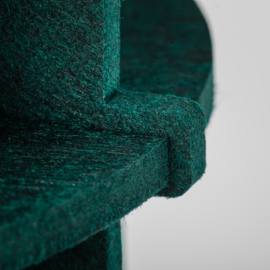 NO.19XL Felt dark green