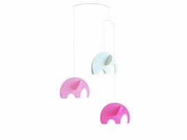 Olephant pink/white Mobile