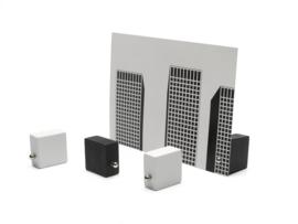 Basics Magnetic fotoholder zwart/wit