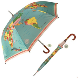 paraplu wereldkaart