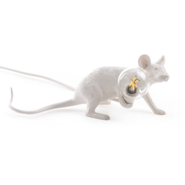 Mouse lamp lie down wit