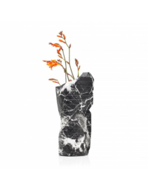 Tiny Miracles Paper Vase Cover black marble